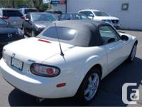 Make Mazda Model MX-5 Year 2007 Colour White kms 94745