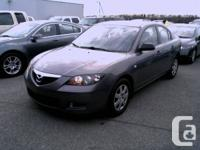 2007 MAZDA3, 4 DOOR, AUTOMATIC, 136K ONLY, MINT
