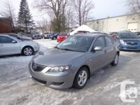 2007 MAZDA3, AC, 4 DOOR, AUTOMATIC, 136K ONLY, MINT