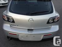Make Mazda Model MAZDA3 Year 2007 Colour Silver kms