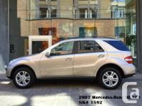 Make Mercedes-Benz Model ML320 Year 2007 Colour Gold