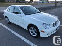 Make Mercedes-Benz Model C230 Year 2007 Colour White