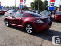 Make Mitsubishi Model Eclipse Year 2007 Colour Red kms