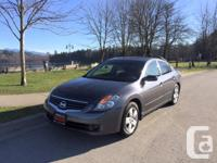 Make Nissan Model Altima Year 2007 Colour SILVER kms