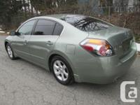 Make Nissan Model Altima Year 2007 Colour green kms