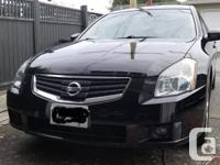 Make Nissan Model Maxima Year 2007 Colour Black kms