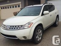 Make Nissan Model Murano Year 2007 Colour White Trans