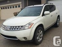 Make Nissan Model Murano Year 2007 Colour White kms