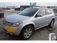 BID NOW 2007 Nissan Murano Engine: 3.5L V6