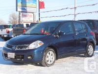 2007 Nissan Versa SL Hatchback 1.8LTR, auto, A/C, tilt,