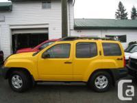 2007 Nissan Xterra 4WD - $14,990