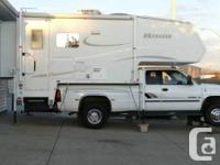 Both truck and camper for sale.  Camper: Has two