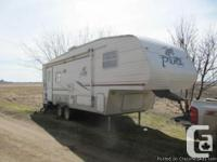2007 Palomino Puma 253FBS 28ft 5th Wheel. The trailer
