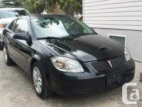 Make Pontiac Model G5 Year 2007 Colour Black kms
