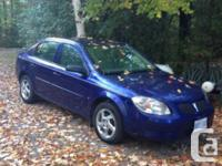 Make Pontiac Model G5 Year 2007 Colour Blue kms 163000