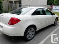 Make Pontiac Model G6 Year 2007 Colour White kms