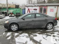 Make Pontiac Model G6 Year 2007 Colour Grey kms 116470
