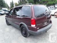Make Pontiac Model Montana Year 2007 Colour Red kms