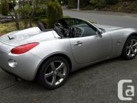 Make Pontiac Model Solstice Year 2007 Colour Silver