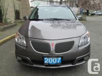 Make Pontiac Model Vibe Year 2007 Colour Grey kms