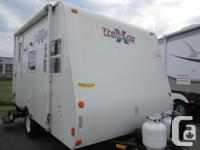 Perfect little trailer for a couple. Extremely
