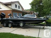 This boat is a must see loaded boat with lots of