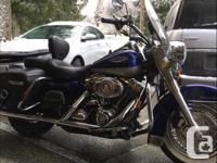 Make Harley Davidson Year 2007 kms 25000 2007 Roadking