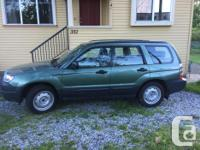 Make Subaru Model Forester Year 2007 Colour Green kms