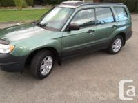 Make Subaru Colour Evergreen metallic Trans Manual