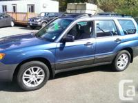 Make Subaru Model Forester Year 2007 Colour Blue kms