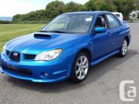 2007 Subaru WRX 4dr sedan 5spd A/C, Heated Seats, power
