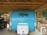 2007 T@B travel trailer made by Thor,  like new for sale  British Columbia