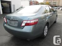 Make Toyota Model Camry Year 2007 Colour Green kms