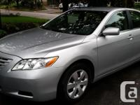 Make Toyota Model Camry Year 2007 Colour SILVER kms
