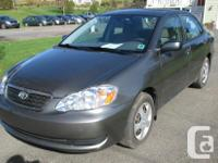 Make Toyota Model Corolla Year 2007 kms 116000