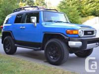 Make Toyota Model FJ Cruiser Colour Voodoo Blue Trans