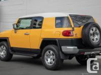 Make Toyota Model FJ Cruiser Year 2007 Colour Yellow