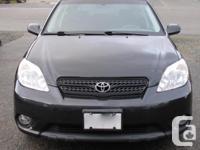 Make Toyota Model Matrix Year 2007 Colour Black kms