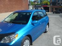 Make Toyota Model Matrix Colour blue Trans Automatic