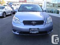 Make Toyota Model Matrix Year 2007 Colour Light Blue