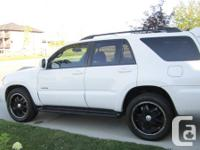 2007 Toyota 4Runner V6 LIMITED 147,860 KMS  **White on