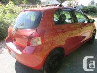 Make Toyota Model Yaris Year 2007 Colour orange kms