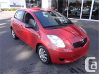 Make Toyota Model Yaris Year 2007 Colour Red kms