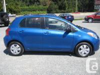 Make Toyota Model Yaris Year 2007 Colour Blue kms