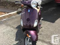 Deep Purple 2007 Vespa LX 150 2,755 km $1200 firm Great