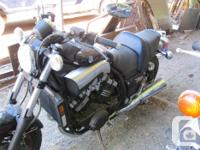 2007 Yamaha VMX 1200 V MAX. Has 14 km (yes in fact 14