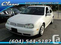 2007 Volkswagen GOLF - $6,800    Stock Number: 007171