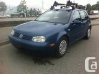 2007 golf city manual transmission loaded with a vw