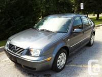 2007 Volkswagen Jetta City, 5 speed manual, 1 owner,