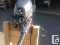 2007 Yamaha 9.9 High Thrust. AMS oil since new, extra